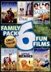 Family Pack: 6 Fun Films [2 Discs]